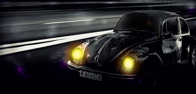 car lights photo