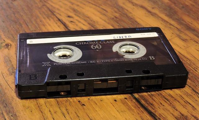 music tape photo