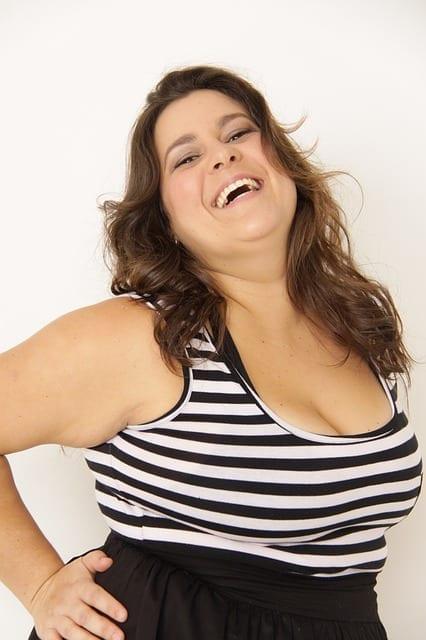 fat woman photo