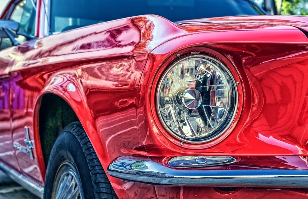 El carro rojo 1