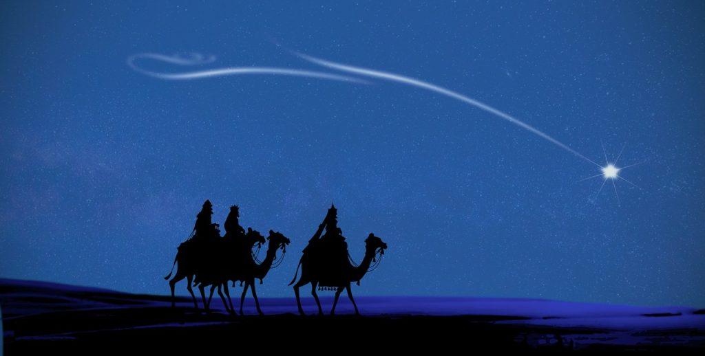 La estrella y los Reyes Magos 1